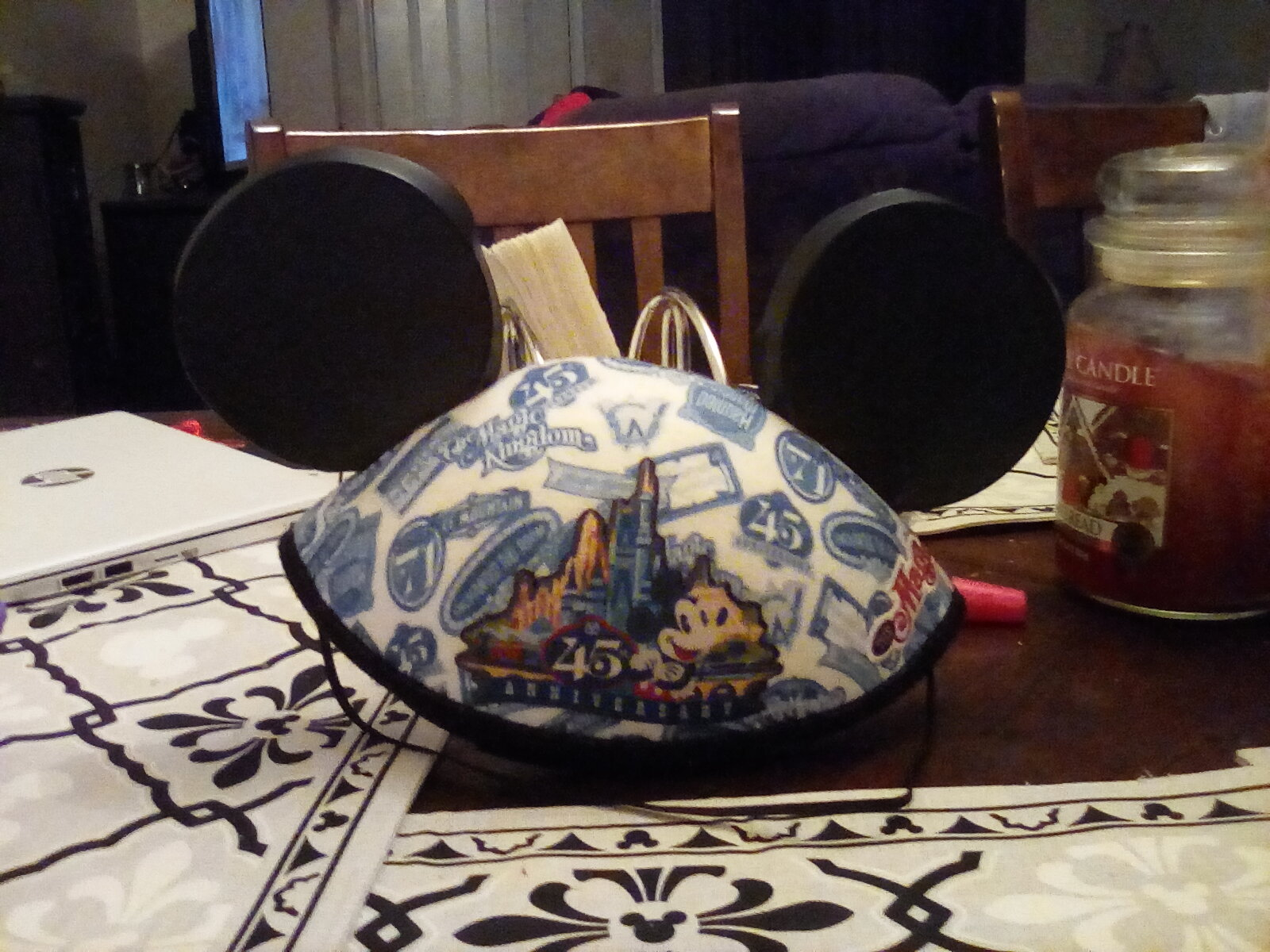 45th anniversary Mickey mouse ears